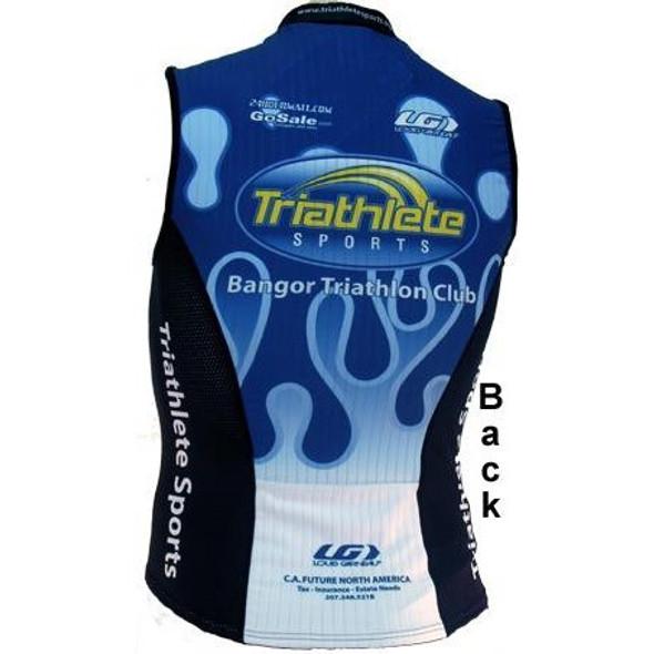 Bangor Triathlon Club Tri Jersey - back
