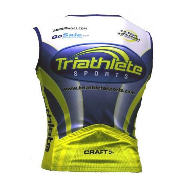 Triathlete Sports Tri Jersey - back