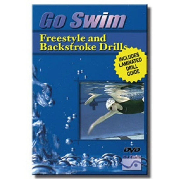 Go Swim Freestyle & Backstroke Drills DVD