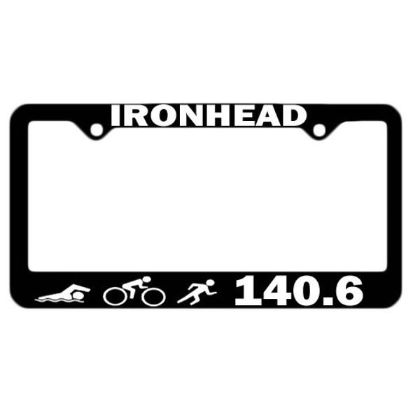 Triathlon License Plate Frames