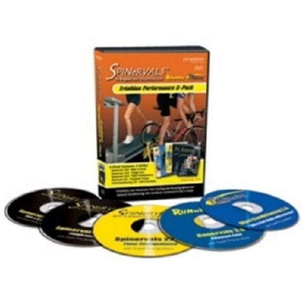 Spinervals Triathlon Performance 5-Pack DVDs