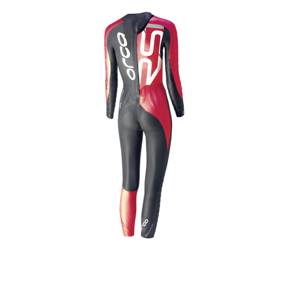 REPAIRED: Orca Women's RS1 Predator Compression Wetsuit - Back