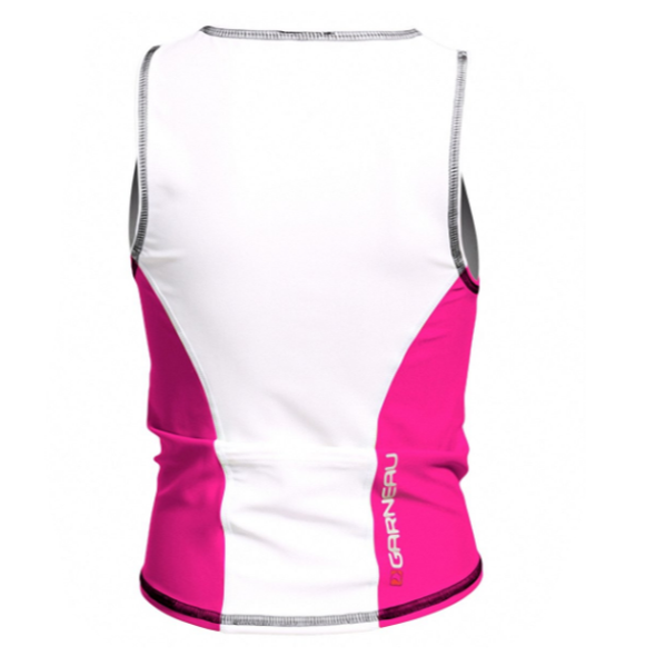 Louis Garneau Youth Comp Sleeveless Tri Top - Back