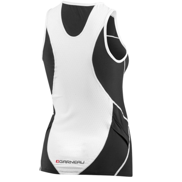 Louis Garneau Womens Pro Sleeveless Tri Top - Back