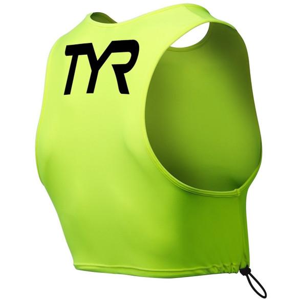 TYR Hi-Vis Open Water Pinnie - Back