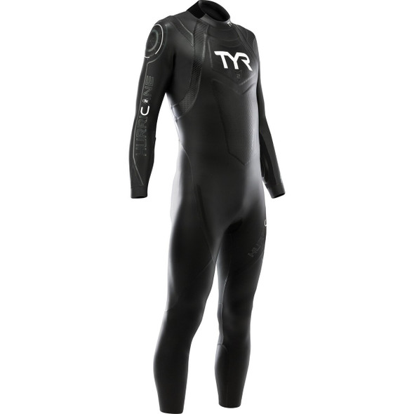 REPAIRED: TYR Men's Hurricane Category 2 Full Sleeve Wetsuit - 2019 - Size M/L