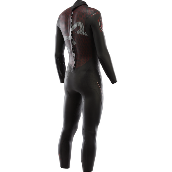 TYR Men's Hurricane Category 5 Full Sleeve Wetsuit - Back