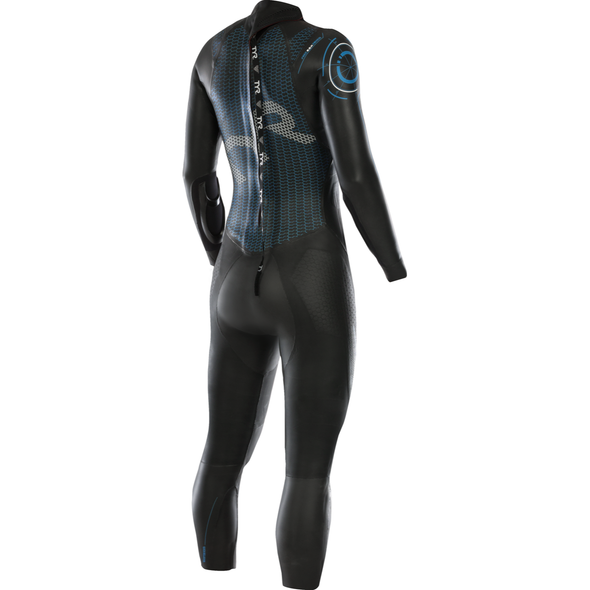 TYR Women's Hurricane Category 5 Full Sleeve Wetsuit - Back