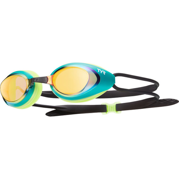 TYR Black Hawk Mirrored Racing Goggle