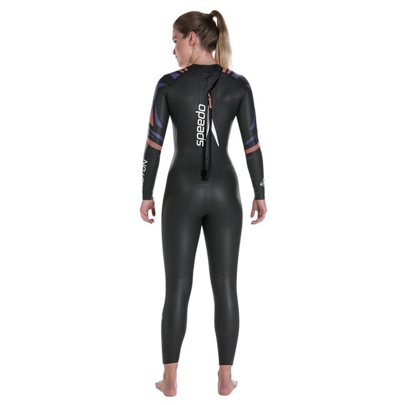 REPAIRED: Speedo Women's Fastskin Proton Full Sleeve Wetsuit - 2018 - Size S - Back