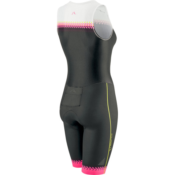 Louis Garneau Women's Course Club Tri Suit - Back