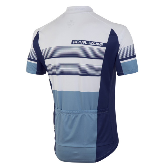 Pearl Izumi Men's Select LTD Bike Jersey - Splitz Blue - Back