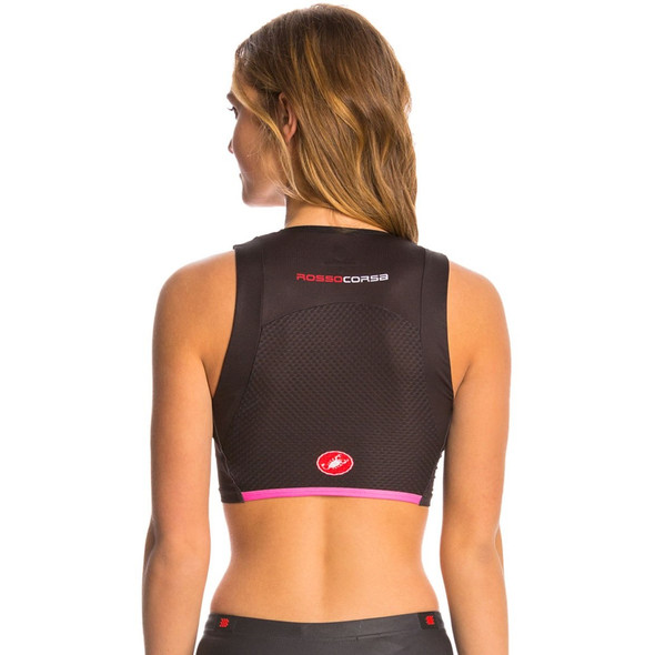Castelli Women's Free Short Tri Top - Back