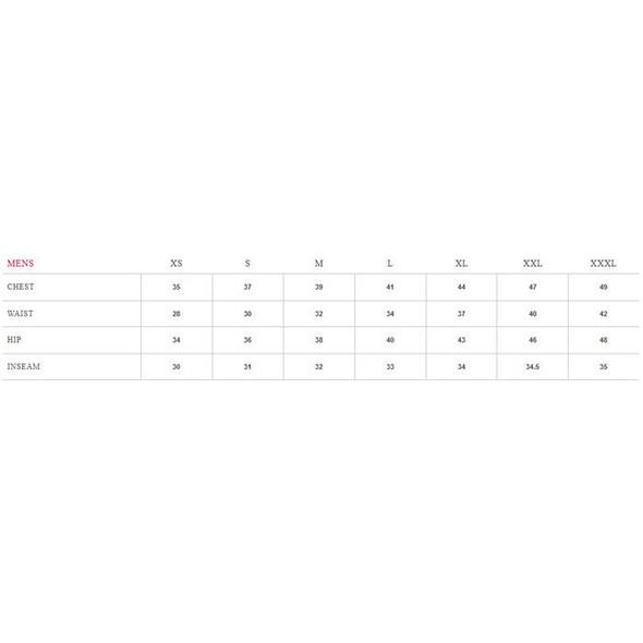 Sugoi Men's RS Tri Tank - Size Chart