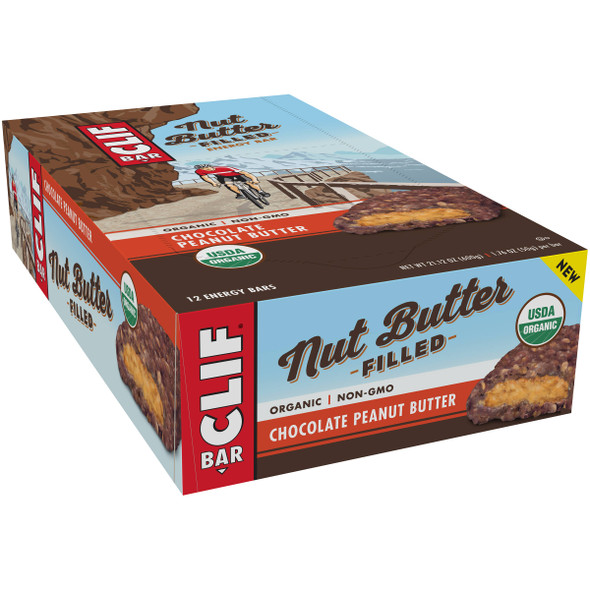 Clif Bar Nut Butter Filled Bars - Box of 12