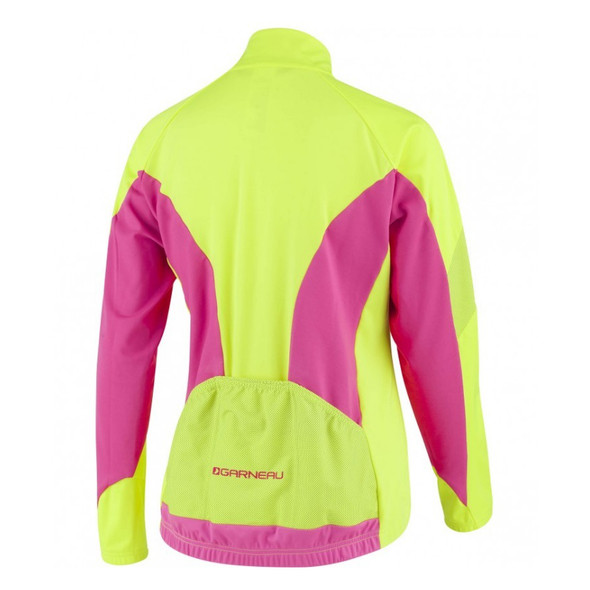 Louis Garneau Women's Glaze RTR Cycling Jacket - Back