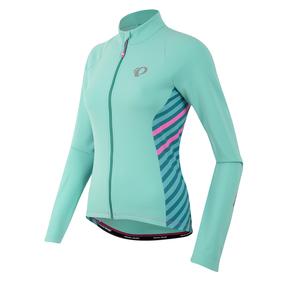 Pearl Izumi Women's Select Pursuit Thermal Jersey - Aqua Mint