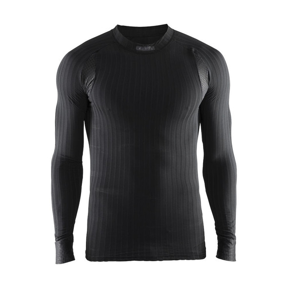 Craft Men's Active Extreme 2.0 Long Sleeve Crewneck - Black