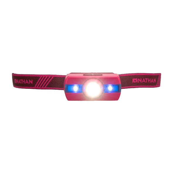 Nathan Neutron Fire Runners' Headlamp - Rio Red