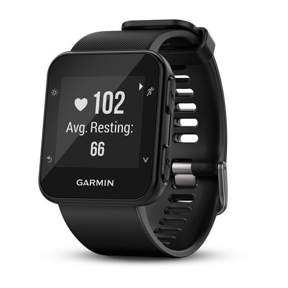 Garmin Forerunner 35 GPS Running Watch - View From An Angle