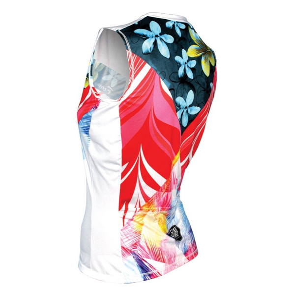DeSoto Women's Femme Skin Cooler Tri Top - Back