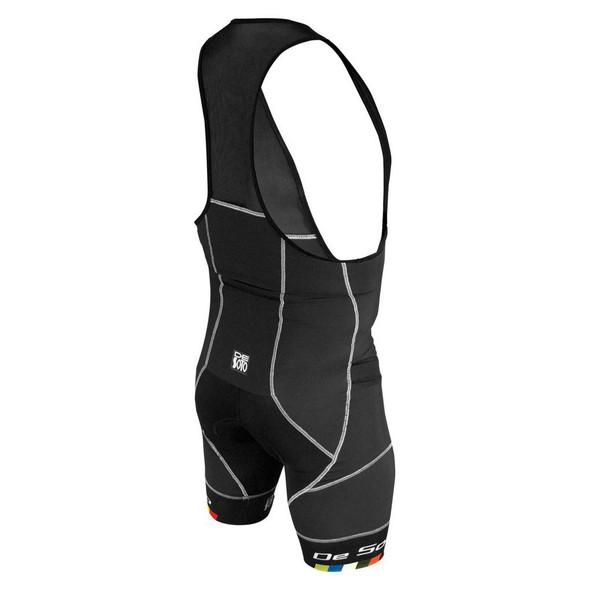 DeSoto Men's Riviera Fli Tri Bib Short - Back
