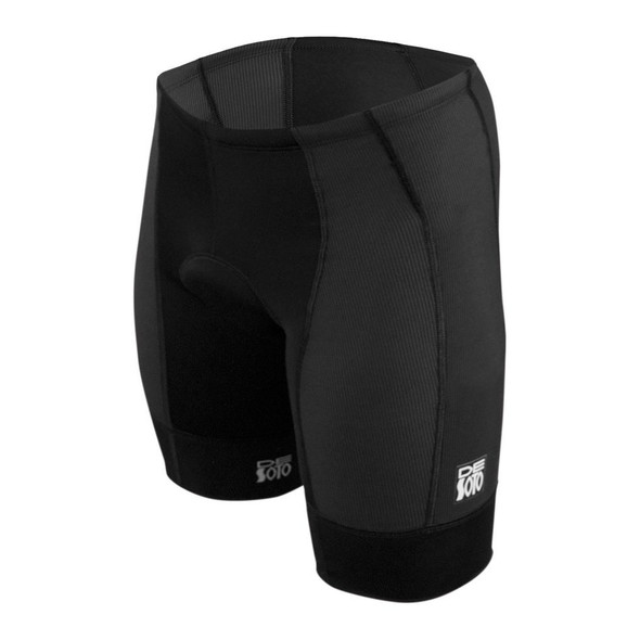DeSoto Men's Forza Tri Short - Black
