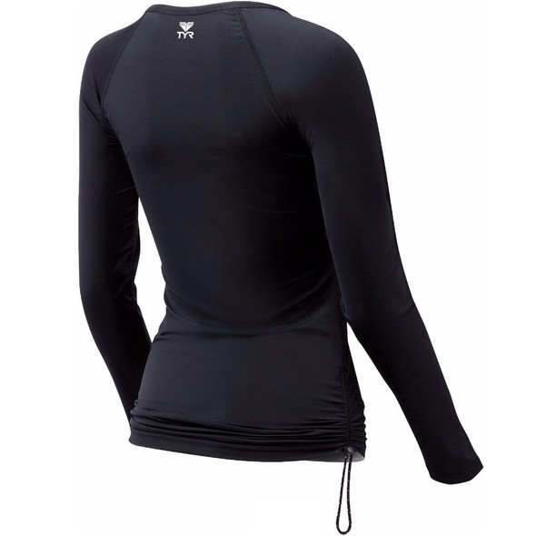 TYR Women's Belize Long Sleeve Rash Guard - Back