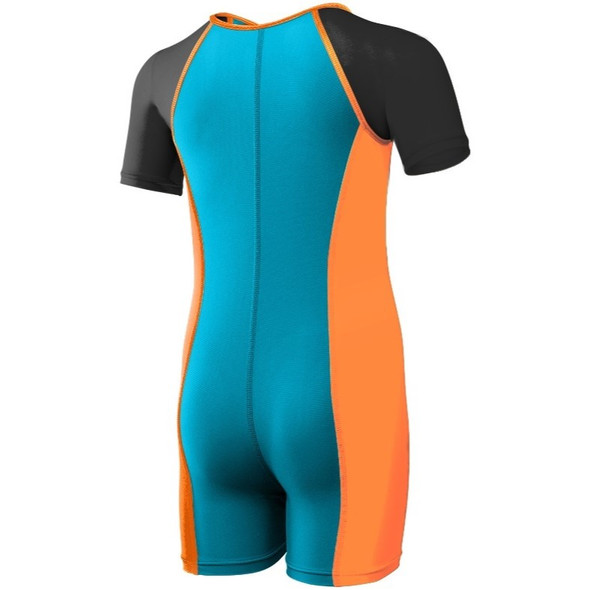 TYR Boys Solid Thermal Swim Suit - Back
