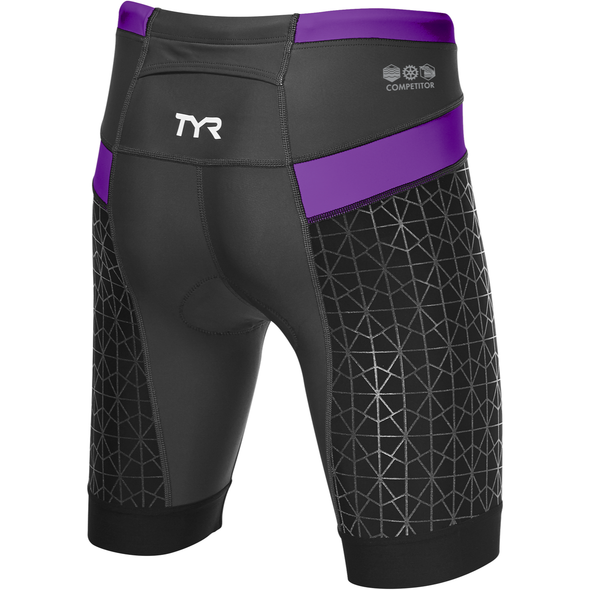 "TYR Women's 6"" Competitor Tri Short - Back"