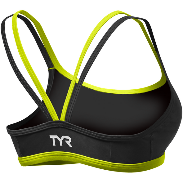 TYR Women's Competitor Thin Strap Tri Bra - Back