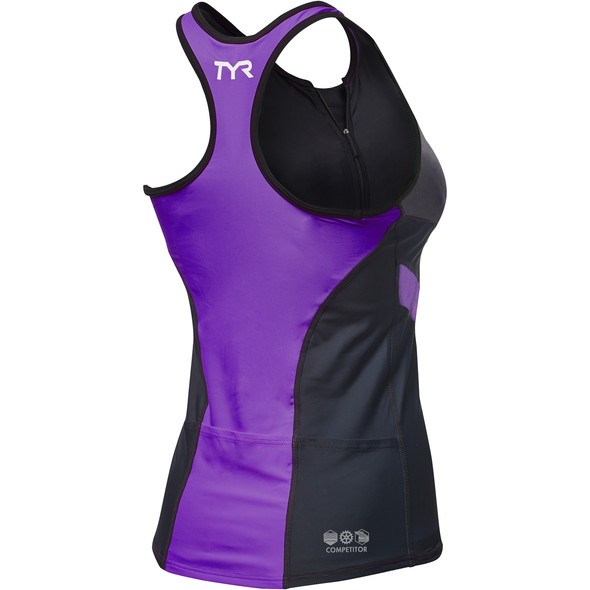 TYR Women's Competitor Tri Tank - Back