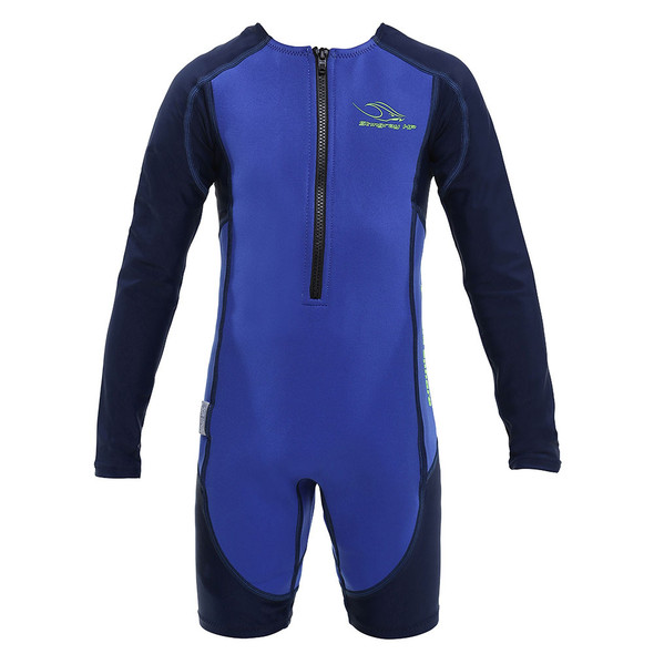 Aqua Sphere Kid's Stingray HP Core Warmer Long Sleeve Swimsuit