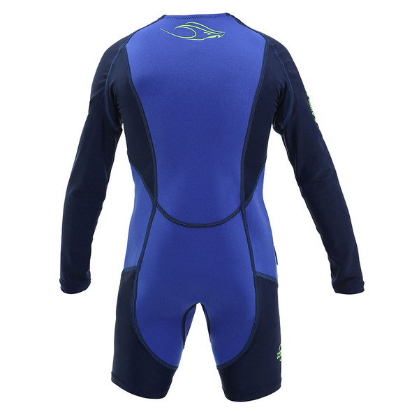 Aqua Sphere Kid's Stingray HP Core Warmer Long Sleeve Swimsuit - Back