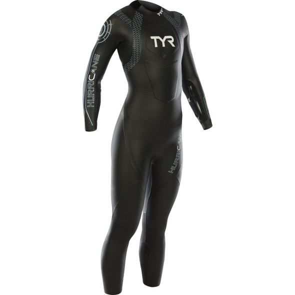 REPAIRED: TYR Women's Hurricane Category 2 Full Sleeve Wetsuit - 2019 - Size L
