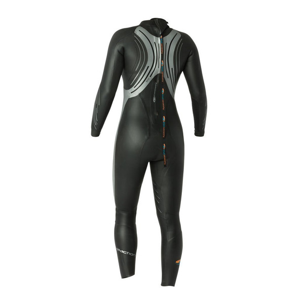 REPAIRED: Blue Seventy Women's Thermal Reaction Full Sleeve Wetsuit - 2021 - Size WL - Back