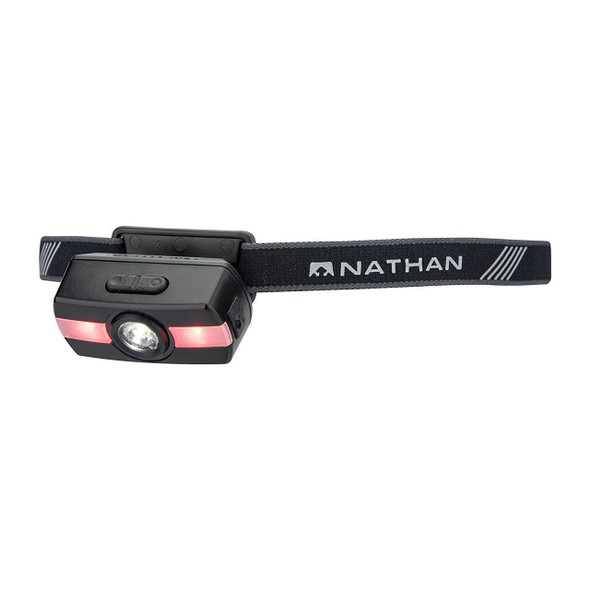 Nathan Neutron Fire RX Runners Headlamp - On
