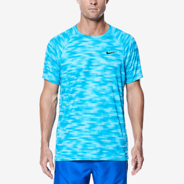 Nike Men's Blurred Short Sleeve Hydroguard