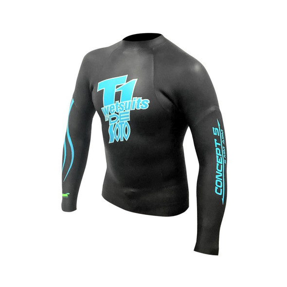 DeSoto T1 First Wave Concept 5 Pullover Wetsuit