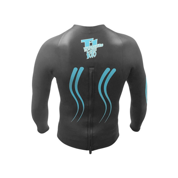 DeSoto T1 First Wave Concept 5 Pullover Wetsuit - Back