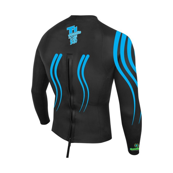 DeSoto T1 First Wave Pullover Wetsuit - Back