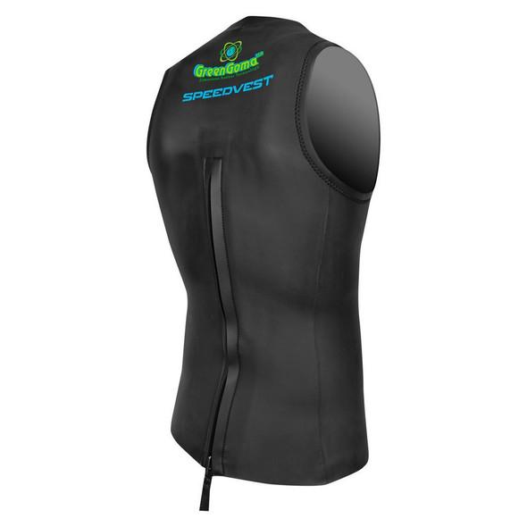 DeSoto T1 Speedvest Wetsuit - Back