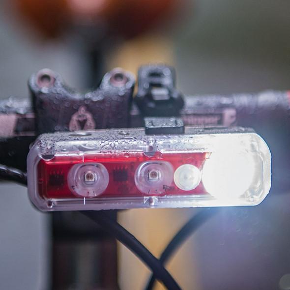 Blackburn 2'Fer XL Front or Rear Light - On Bike