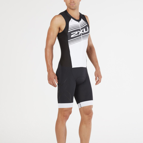 2XU Men's Compression Full Zip Tri Suit