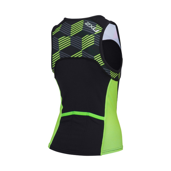 2XU Youth Active Tri Singlet - Back