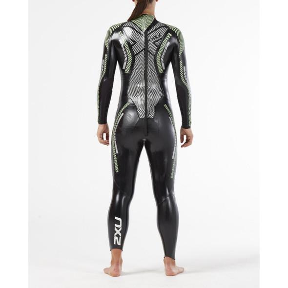 2XU Women's P:2 Propel Wetsuit - Back