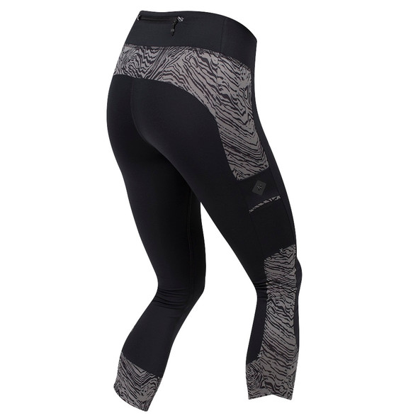 Pearl Izumi Women's Escape 3-Quarter Tight with Print - Back