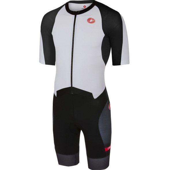 Castelli Men's All Out Speed Tri Suit - White