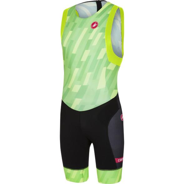 Castelli Men's Free ITU Tri Suit - Pro Green
