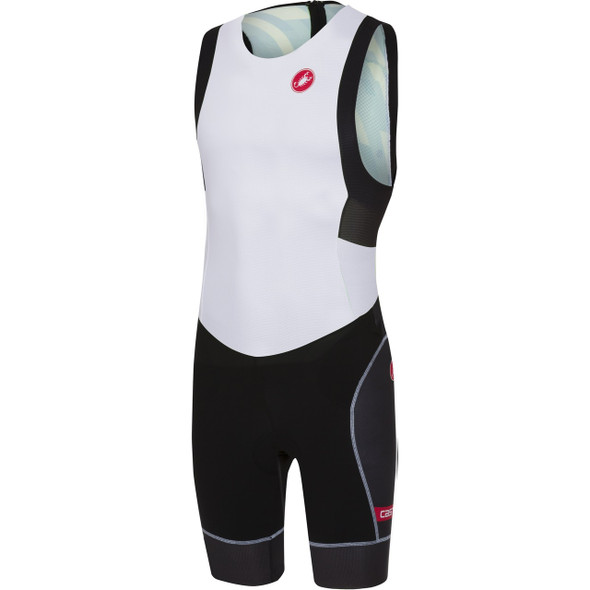 Castelli Men's Free ITU Tri Suit - White